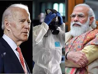 अमेरिका से भारत आ रही मदद