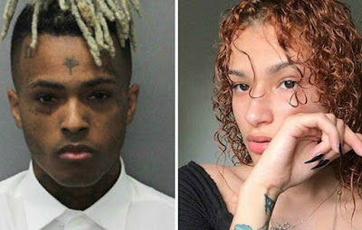 XXX Tentacion and Geneva Ayala
