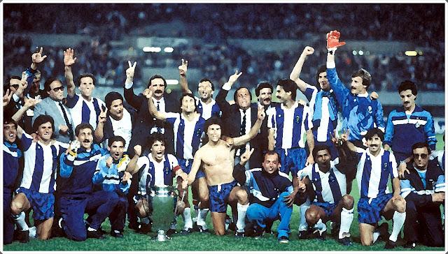 Porto Campeão 1987 Europa