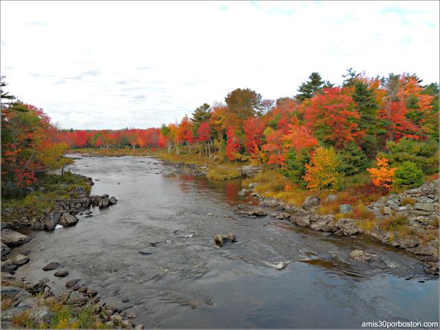 Paisajes Otoñales en el Área de Downeast en Maine