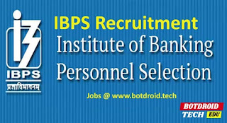 ibps recruitment 2020 notification apply online