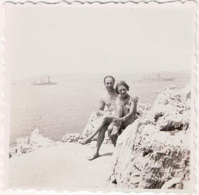 Rudolf Sieber & Tamara Matul. Cap d'Antibes, 1933