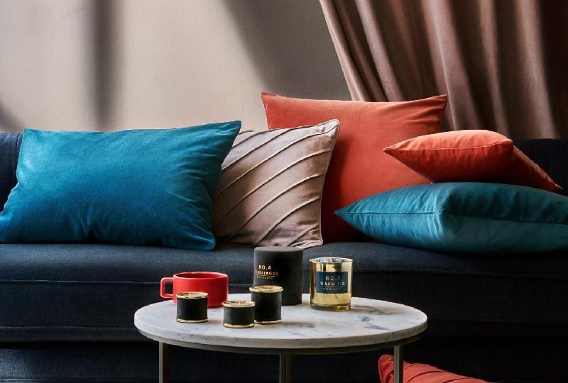 cuscini d'arredo in velluto di H&MHome
