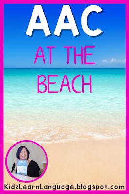 free beach aac activity