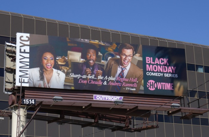 Black Monday season 1 Emmy FYC billboard