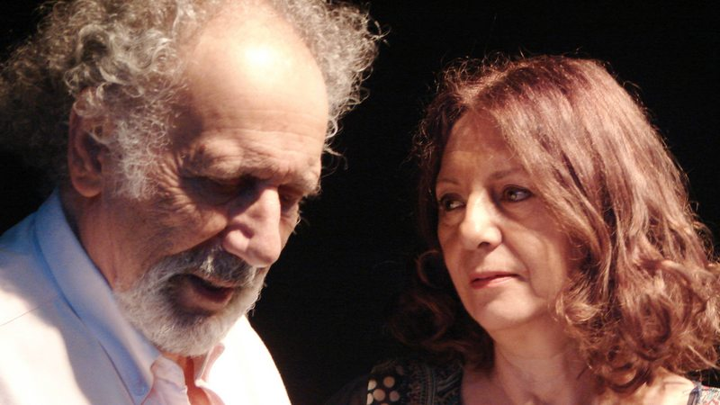 El teatral adiós a Nissim Sharim