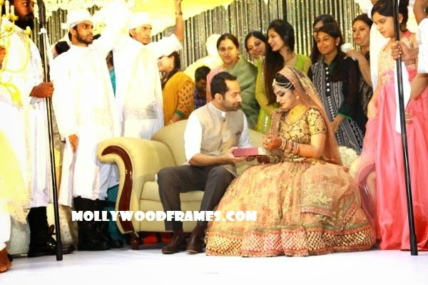 Fahad's wedding gift for Nazriya