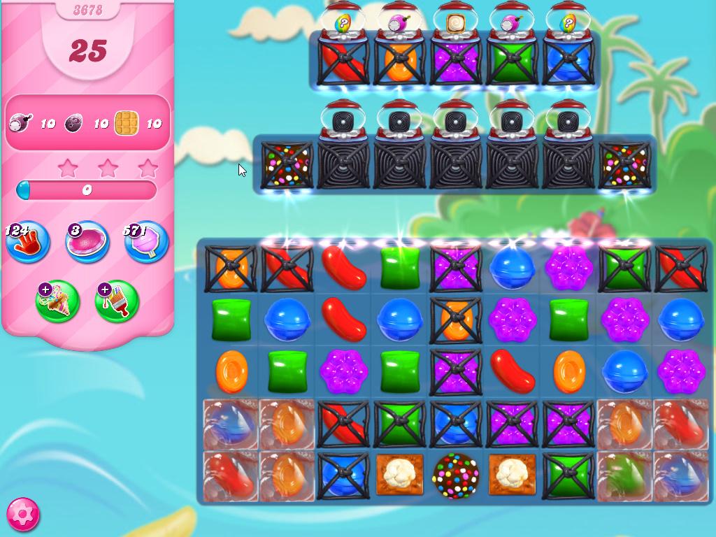 Candy Crush Saga level 3678