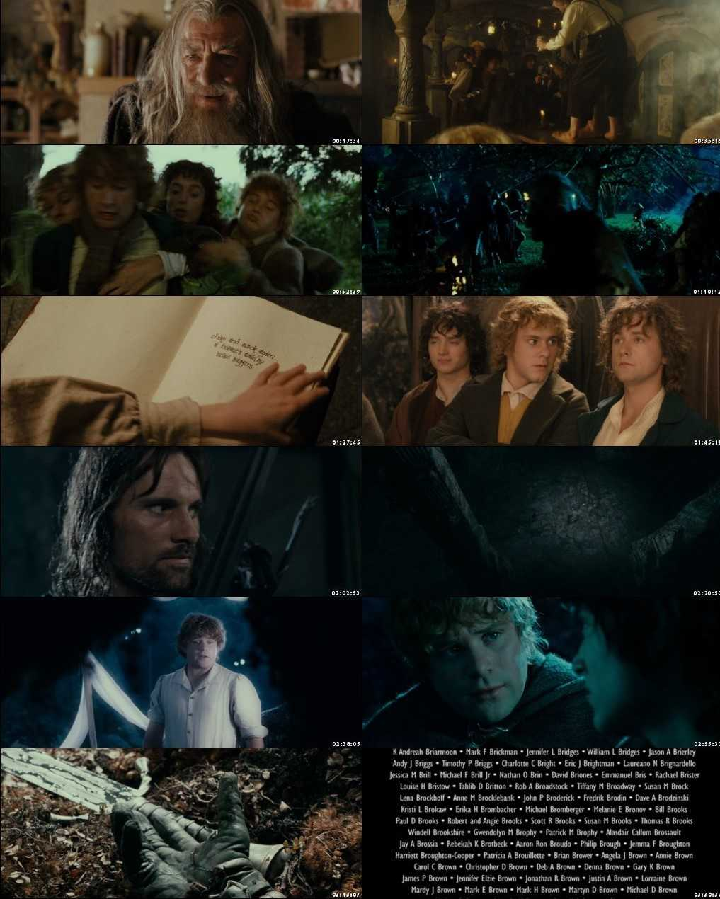 The Lord of the Rings: The Fellowship of the Ring 2001 Screenshot 1080p