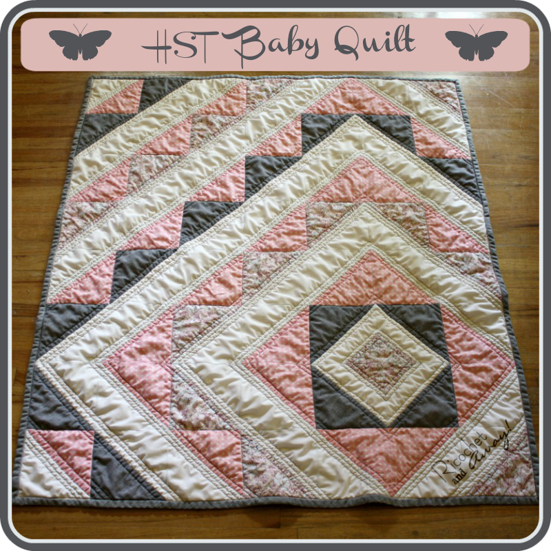 Baby Quilt Patterns.Ricochet And Away Hst Baby Quilt Tutorial