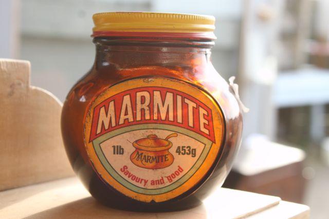 vintage Marmite pot