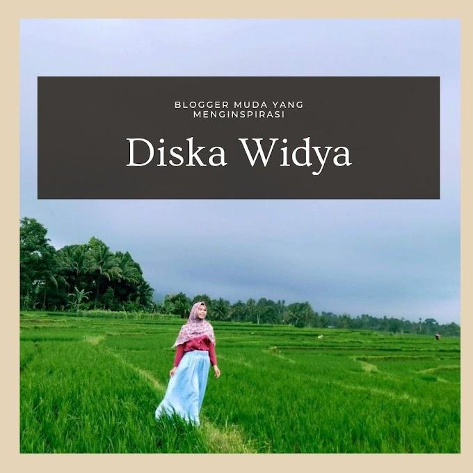 Diska Widya, Blogger Muda yang MengInspirasi dari Bengkulu