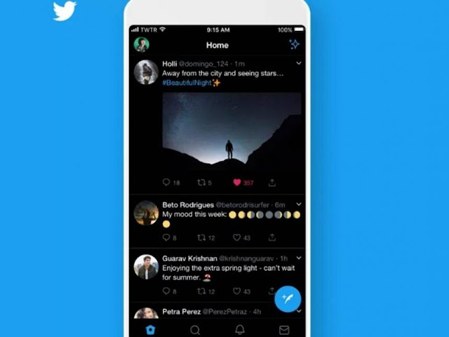 Twitter puts dark mode for Android in tests
