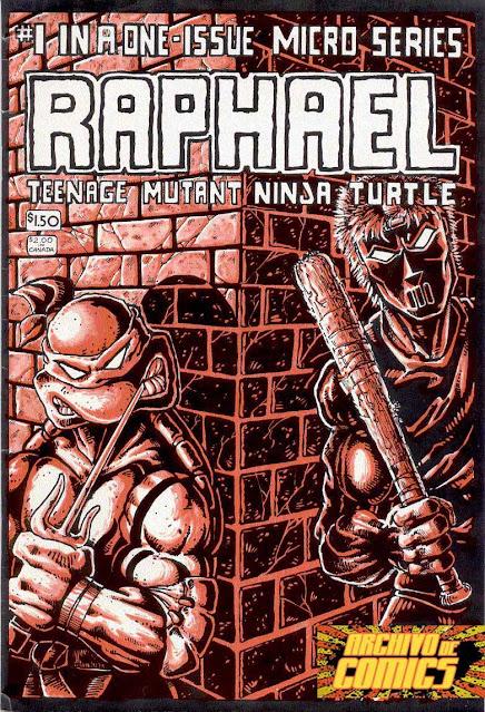 TMNT VOLUMEN 1 TALES RAPHAEL