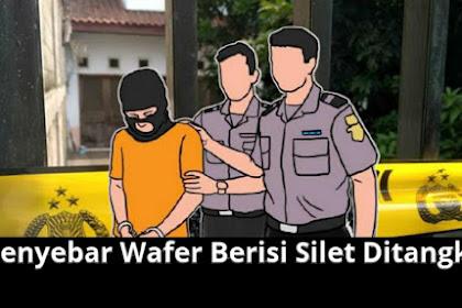 Pria Penyebar Wafer Berisi Silet Kepada Anak-anak di Jember Berhasil Ditangkap