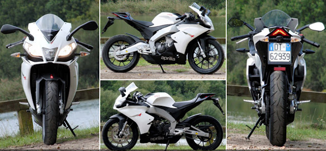 Duel Aprilia 125 RS4 vs Yamaha YZF-R125