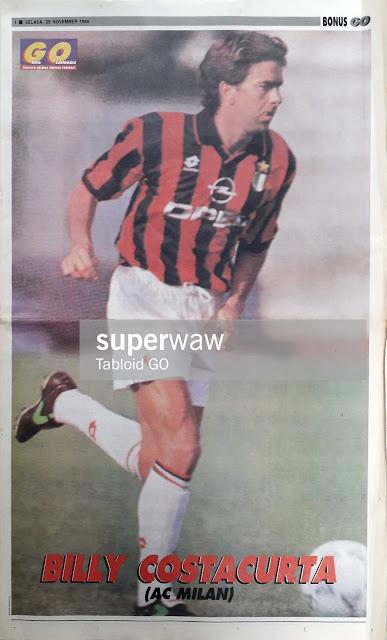 ALESSANDRO COSTACURTA AC MILAN 1994