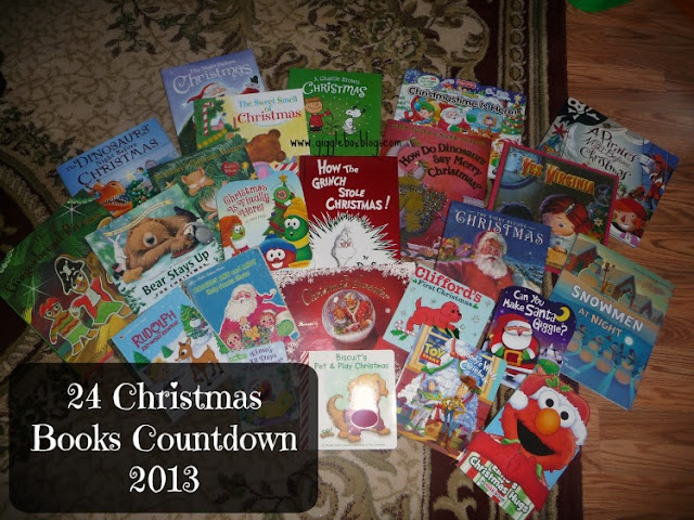 counting down the days until Christmas with 24 Christmas books, an advent calendar alternative, fun Christmas countdown to do with the kids,