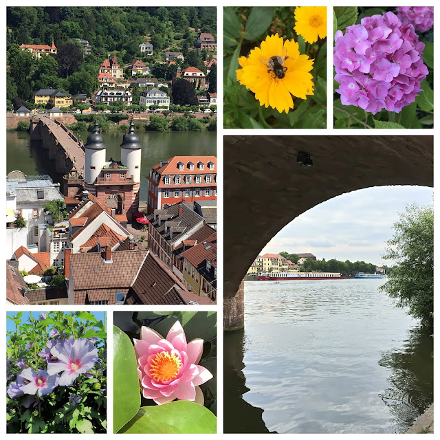 Heidelberg Romantic Old Town - Old Bridge - Neckar River
