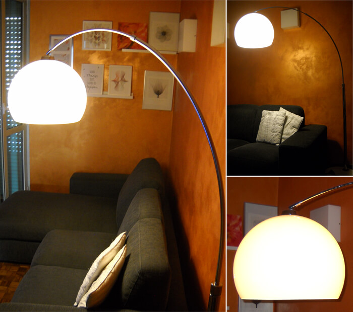 Picture of the Fjella model arched lamp