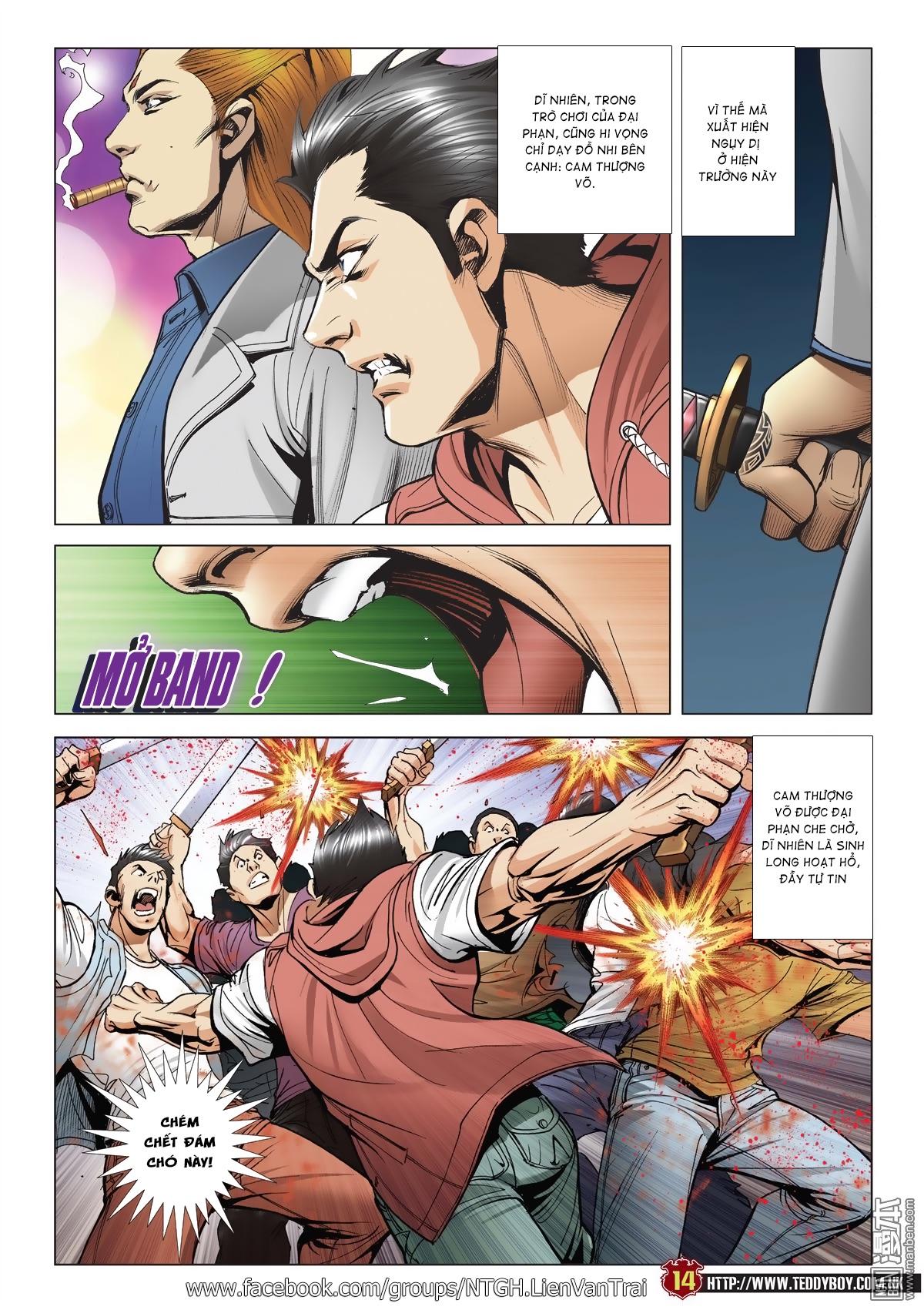 Người Trong Giang Hồ chapter 2015: tọa sơn hổ vs đại phạn trang 11