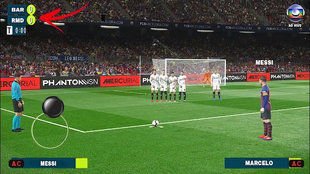 Pes 2020 lite 300 Mb faces realistas para ppsspp/psp/pc/android