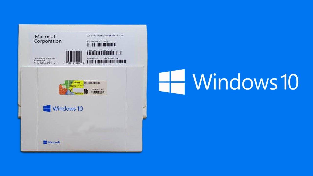 Bentuk dan gamabr Windows Asli 10
