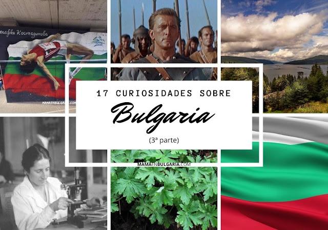 17 curiosidades Bulgaria