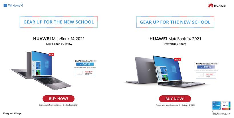 The new HUAWEI MateBook 14 2021 AMD: Promo