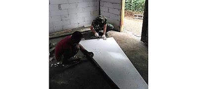 Polesan Tangan TNI dan Rakyat, Harapan Rumah Layak Bagi Bu Warsih