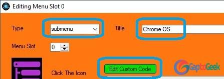 Cara menambahkan menu Chrome OS di Grub2Win| GaptoGeek