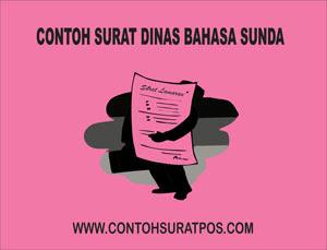 Gambar untuk Contoh Surat Dinas Dalam Bahasa Sunda