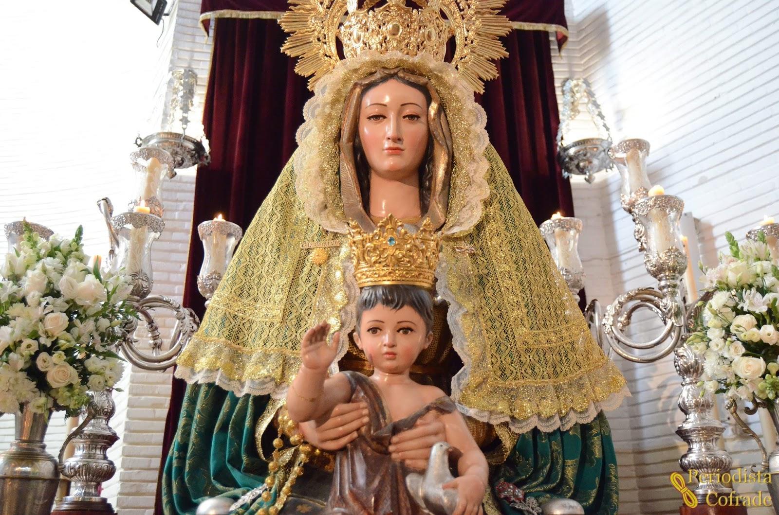 Periodista Cofrade: LA CANDELARIA MADRE DE DIOS, EN BESAMANOS ...