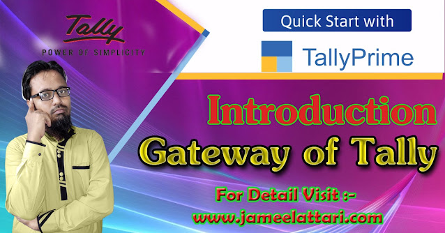 Gateway of Tally-Introduction