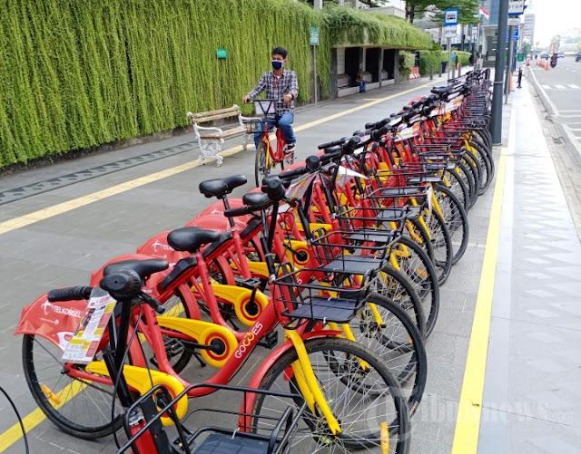 Tarif/Harga Sewa Rental Sepeda MTB, City Bike, Onthel Jakarta