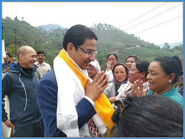 Raju Bista BJP MP from Darjeeling Constituency