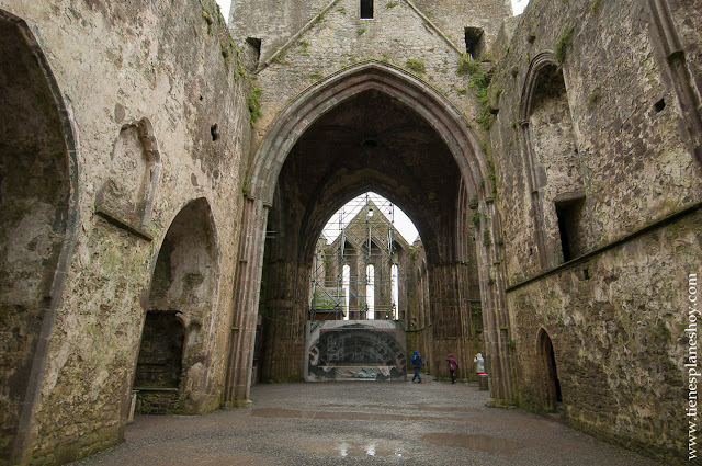 Interior Rock of Cashel condado de Tipperary Irlanda