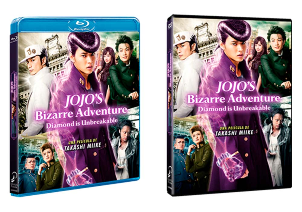 JoJo's Bizarre Adventure: Diamond is Unbreakable live-action BD/DVD (Selecta Vision)