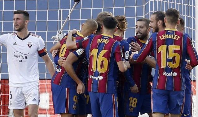 نادي برشلونة على أبواب الإفلاس