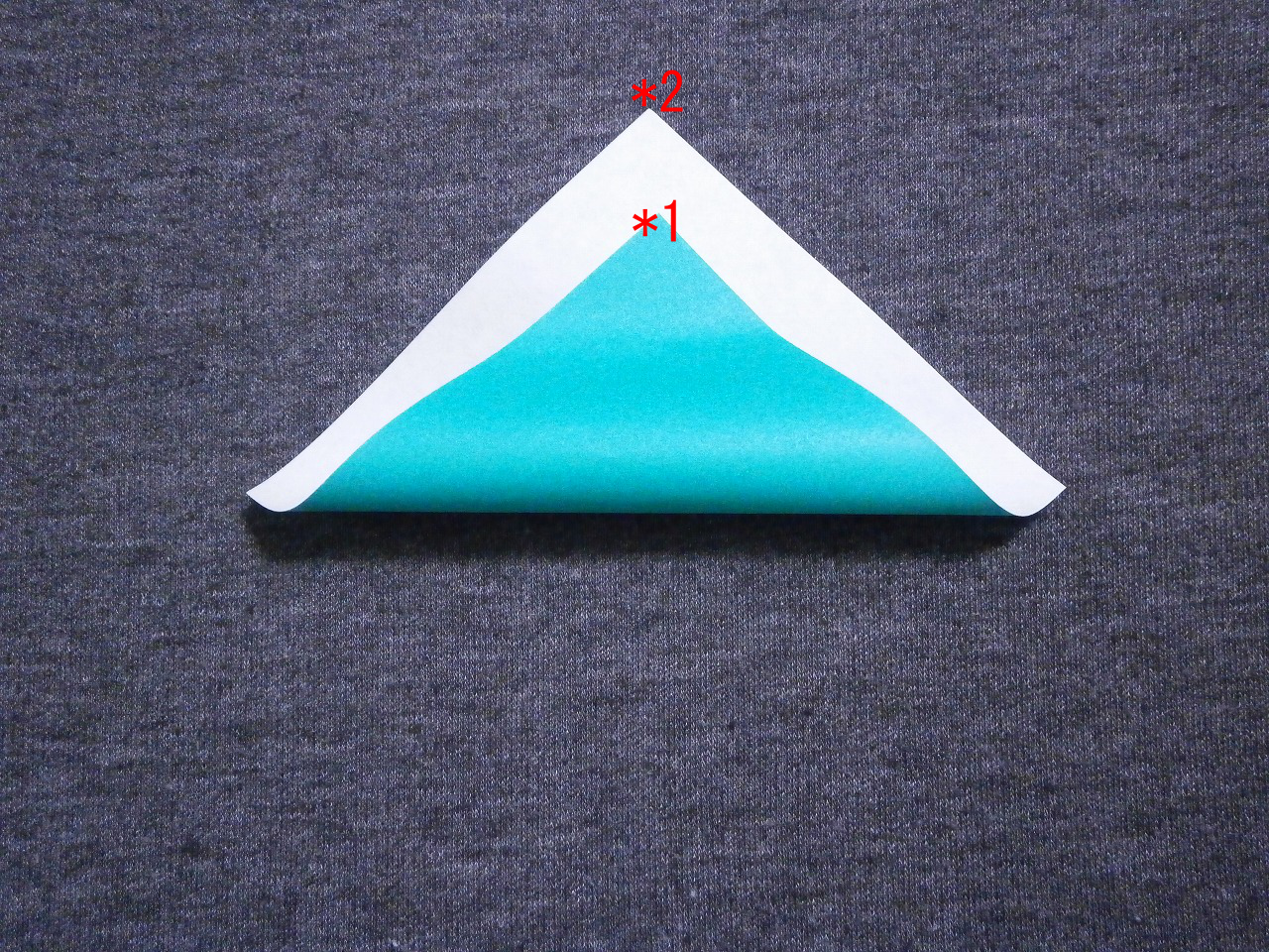 "KATAKOTO ORIGAMI: Step1 ""Valley fold"" - photo#11"
