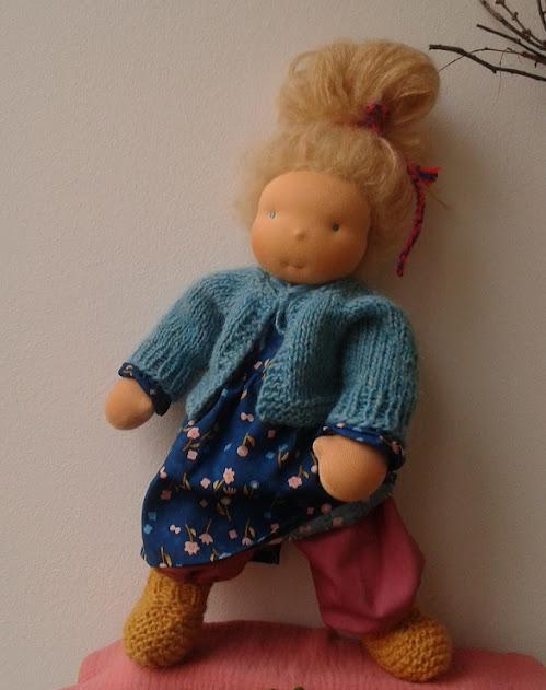 Puppe Waldorfart
