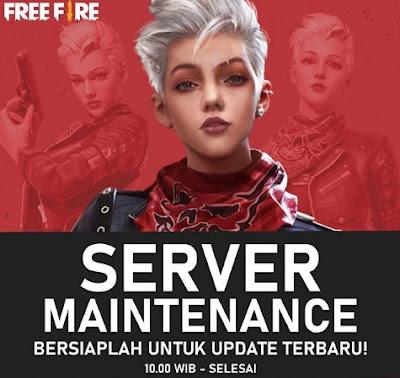 Garena Free Fire telah memberitahukan sebelumnya bahwa akan ada maintenance FF Free Fire  Kenapa FF Tidak Bisa Dibuka 11 Desember? Maintenance Free Fire Sampai Kapan