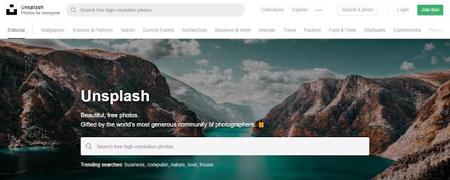 Bancos de Imagens Gratuitos Para Você Usar - Unsplash