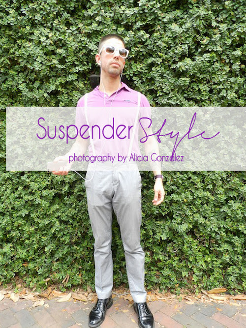 Fashion Files : Suspender Style