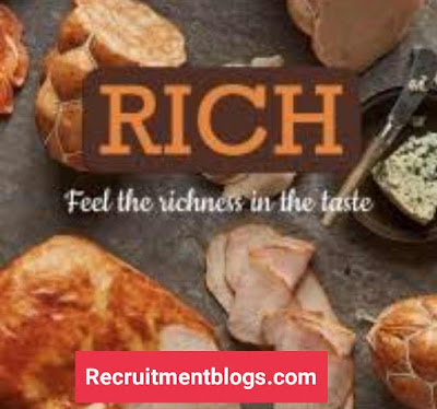 Production Manager At Rich Food