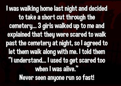 Walking home late at night