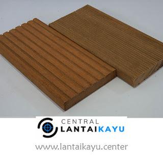 harga lantai kayu outdoor decking Bengkirai jumbo