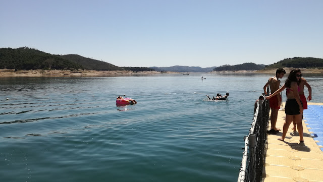 Desporto náuticos na Barragem Santa Clara