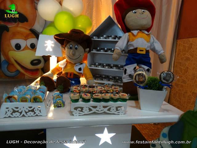 Decoração de aniversário infantil Toy Story - Provençal