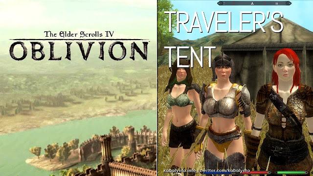 TRAVELER'S TENT! The Elder Scrolls IV: Oblivion Mod